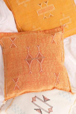 Sabra Silk Cushion available at Baba Souk